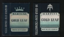 VERY OLD Collectible  cigarette packets 2 different varieties  #
